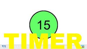 Timer 15 15 Seconds Timer