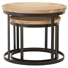 boho round nesting tables