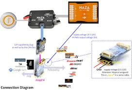 r acirc sup ct adapter board naza m v telemetrie r ct set connection diagram c2t jpg