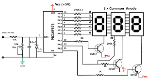 embedded engineering 30 volts panel volt meter using pic mcu 30 volts panel volt meter using pic mcu
