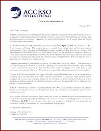 Proposal Letter Sample Charity Donation Sample Of A Sponsorship Letter