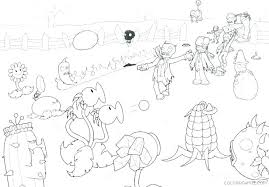 Plants Vs Zombies Coloring Page Homelandsecuritynews