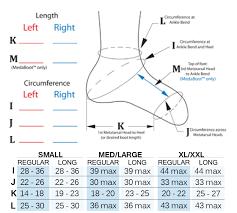 Compreflex Sizing Chart Sigvaris Compreboot Lite
