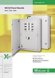 Mccb Panel Boards Short Form Moeller Electric