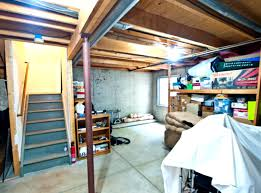 Unfinished Basement Lighting Ideas RacetotopCom - Ununfinished basement before and after