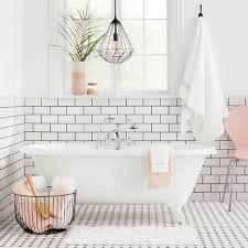 Bathroom accessories Red Minimalist White And Pink Bathroom From Target The Spruce The Best Places To Buy Bathroom Accessories