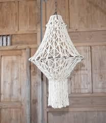 Boho Light Shade Macrame Lamp Shade Boho Eclectic Casachicstore