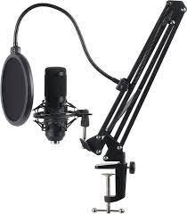 Hyrican Mikrofon »USB Streaming Mikrofon Set ST-SM50 mit Mikrofonarm,  Spinne & Popschutz« online kaufen