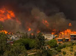 California Wildfires Woolsey Fire Has Hit Santa Susana Nuclear Site