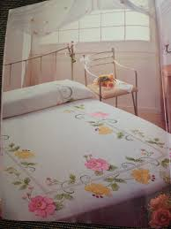 Machine Embroidery Designs For Bed Sheets Bedsheets Fabric Paint Designs Paint Designs Fabric Painting