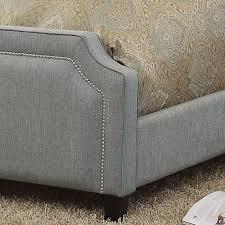 Sanibel Bedroom Furniture Mulhouse Furniture Sanibel Queen Upholstered Panel Bed Reviews