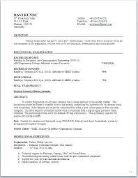 New Resume Format 2012 Pdf Job Resume Samples Sample Of Curriculum