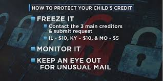 freeze your child s social security number