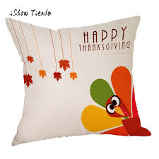 home office turkey. 2017 new arrival fashion pillow cover happy fall thanksgiving day linen turkey case for home office hotel l