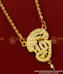 impon tamil om pendant design with