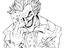 Joker Coloring Pages Dreaded High Quality Home Colouring To Lego
