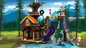 Adventure Camp Tree House  LEGO Friends  41122  Product Friends Lego Treehouse