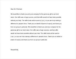 Fundraising Thank You Letter Templates Thank You Letter For Donation In Memory Of Deceased