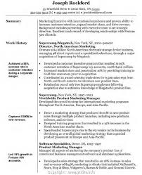 Sample Resume For Sales And Marketing Position Sales Marketing