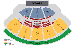 Orlando Amphitheater Seating Chart Coral Sky Amphitheatre Fka Cruzan Amphitheatre Platinum