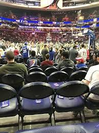 Wells Fargo Center Cadillac Club Seating Chart 76ers Sixers 2 Tickets Vs Sacramento Kings 11 27 190 00