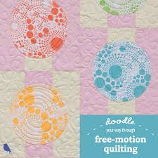 203 best How to Quilt images on Pinterest | Quilting tips ... & Doodle your way through free-motion quilting Adamdwight.com
