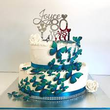 Years Loved Personalised Cake Topper Bridal Bling