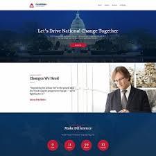 Politics Website Templates Create A Political Website