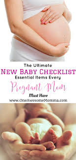 Ultimate Baby Registry Checklist Everything You Need Right Now