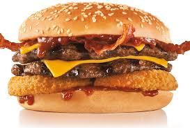 double western bacon cheeseburger