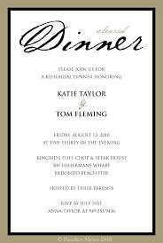 Invitation Wording For Dinner Formal Dinner Invitation Sample Wording Invitation