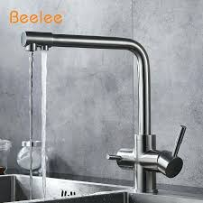 water faucets kitchen 3 way tap stainless steel drinking water faucet water filter filter faucets kitchen water faucets kitchen
