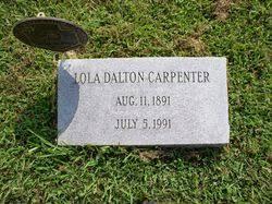 Lola Dalton Carpenter (1891-1991) - Find A Grave Memorial