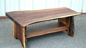 live edge round table live edge round coffee table rounded edge coffee table ideas to