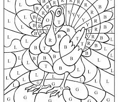 modest turkey math coloring pages stunning free 5th grade color number page
