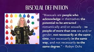 Meaning of the word bisexual