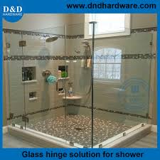 heavy duty frameless shower door hinges for commercial glass door ddgh004