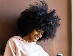 natural hair moisturized
