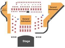 The Rose Seating Chart Pasadena