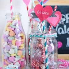 Shiny heart with the inscription happy valentine's day!. 14 Easy Valentine S Day Crafts For Kids Valentine S Day Art Projects For Kids