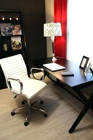 office chair white leather. Black Leather Desk Chair White Office Chairs Modern Baxton Studio Vittoria Leathe . Brilliant
