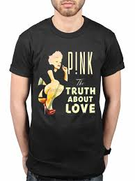Official <b>Pink Truth About</b> Love NEW T Shirt Fans Merch P!nk One ...