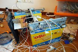 to build the closed loop 3d printer almost everything was able to be salvaged from s he also created some open source firmware for the printer