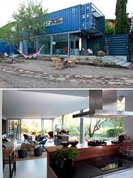 shipping container home office. Stacked Shipping Container Home In Spain 1 Office