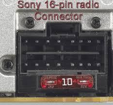 discount car stereo > installation > sony 16 pin quick connect sony 16 pin quick connect harness to select european vehicles