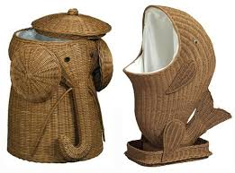 So, do you think this would make a good housewarming gift? Depending on the  person, maybe? If you're into kitsch, these rattan animal hampers could add  a ...