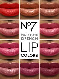 No7 Lipstick Colour Chart Pin On Skincare And Makeup