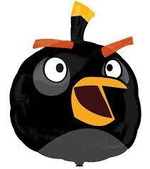 Angry Birds Bomb Aluminium Luftballon 48x61 cm schwarz: Der Angry Birds  Aluminium Luftballon steht unter offizieller L…   Angry birds party, Angry  birds, Bird party
