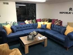 dark blue couch. Dark Blue Sofa Throw Couch Living Room Ideas Corner Decorating With