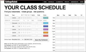 Make College Schedule Online 21 Most Useful Websites Every College Student Needs To Know